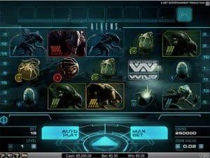Gokkast Aliens