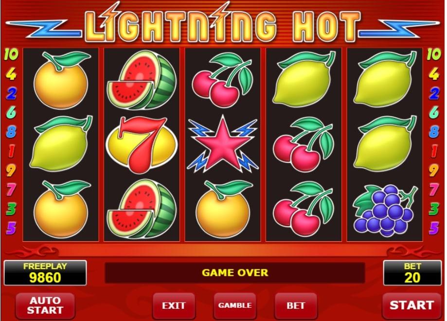 Lightning Hot gokkast